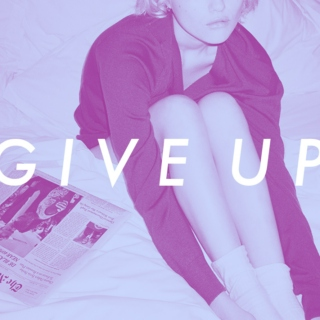 ✩ ;; GIVE UP.