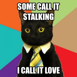 Stalk or obsessive love?
