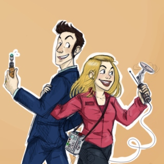 In Love With Each Other.... the 10th Doctor and Rose Tyler