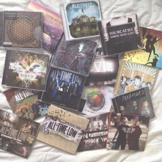 mixtape of her favourite bands