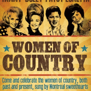 """Classic Ladies of Country Music,""""when country music was cool"""""""