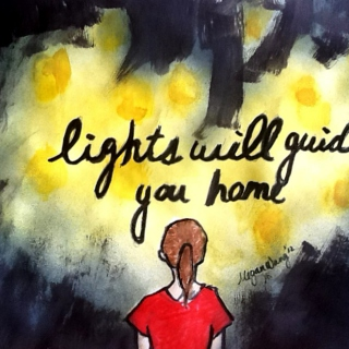 Lights will guide you home. :)