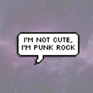 i tried to be punk rock