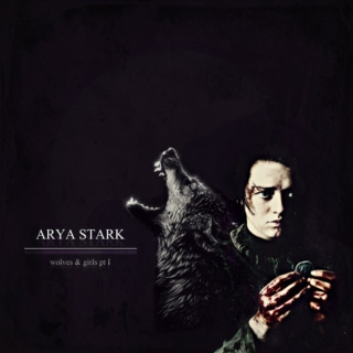 Arya Stark: wolves & girls I