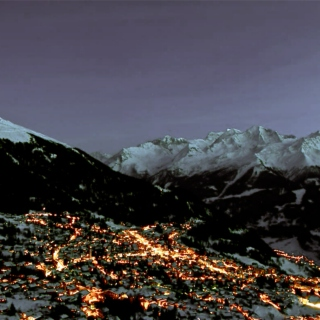 Late Night Drive Up To Verbier