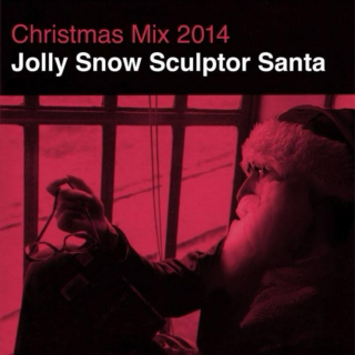 Jolly Snow Sculptor Santa