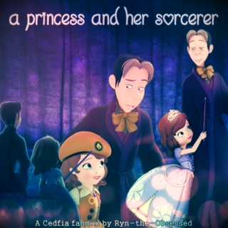 {a princess and her sorcerer}
