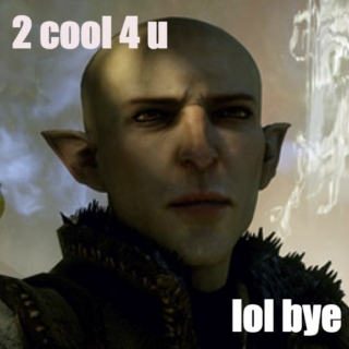 Solas and Inquisitor 5eva