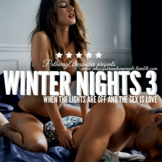 winter nights III, when the lights are off and sex is love. one hour of pure pleasure and madness