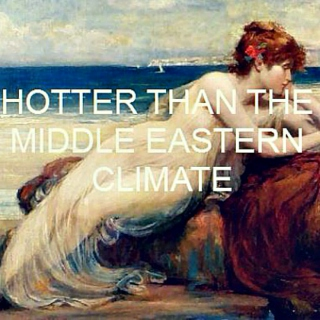 HOTTER THAN THE MIDDLE EASTERN CLIMATE