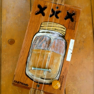 Whiskey tuned guitar
