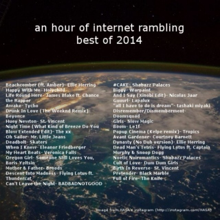 ahoir: best of 2014