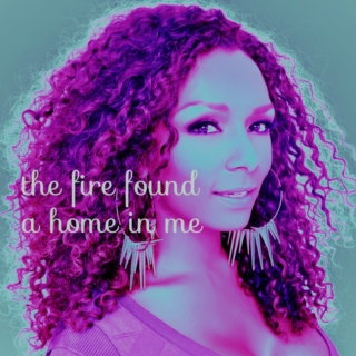 the fire found a home in me