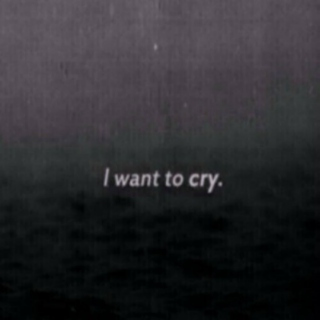 its okay to cry.