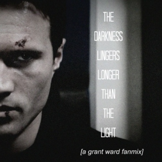 the darkness lingers longer than the light