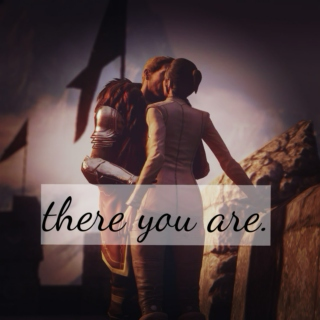 """there you are."" - Cullen x Trevelyan"