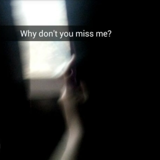 you disappear on the one night I need you here