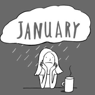 January Hangover Blues