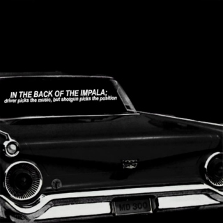 in the back of the impala