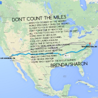Don't Count the Miles | Brenda/Sharon