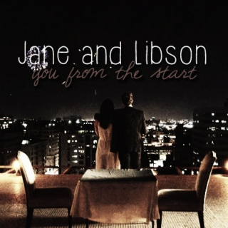 Jane and Lisbon {you from the start}
