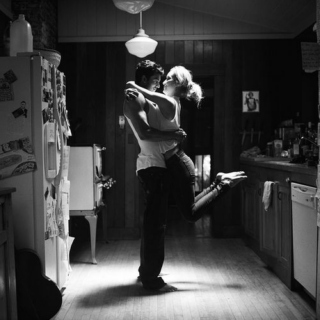 slow dancing in the kitchen