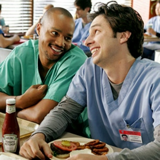 Scrubs. Only the BEST!