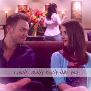 i really really really like you {Jeff/Annie}