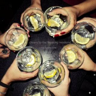 drink with friends