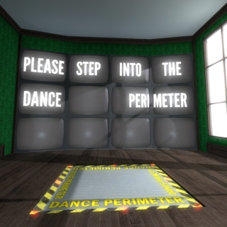 Please Step Into The Dance Perimeter