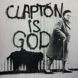 Clapton and friends