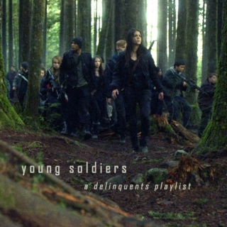young soldiers
