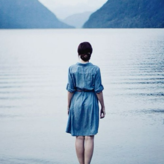let me go like a leaf upon the water and i will disappear into a deeper beauty.