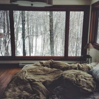 let's cuddle on a rainy day.
