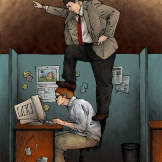 If you're having trouble standing, dump the bosses off your back!