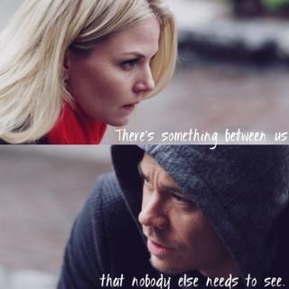 There's something between us that nobody else needs to see.