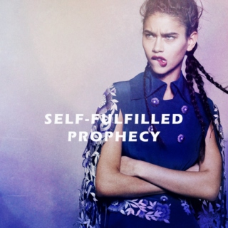 self-fulfilled prophecy