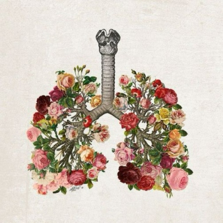 you fill my lungs with sweetness