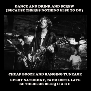 dance and drink and screw