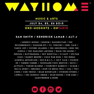 Bands playing Wayhome Festival