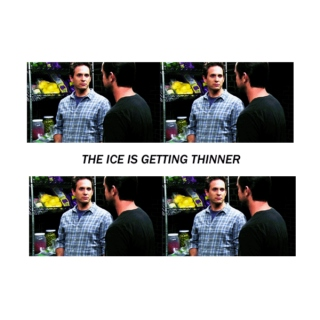 the ice is getting thinner