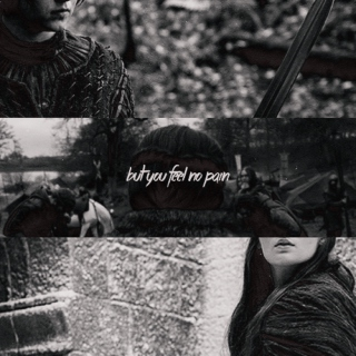 But you feel no pain.