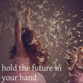 hold the future in your hand