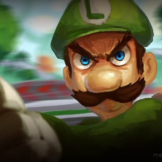 "I'll final smash you if you call me ""Green Mario"" one more time"