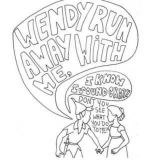 ''wendy, run away with me''