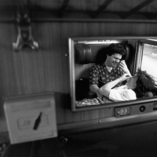 The secret sound of lovers on a train ride to nowhere