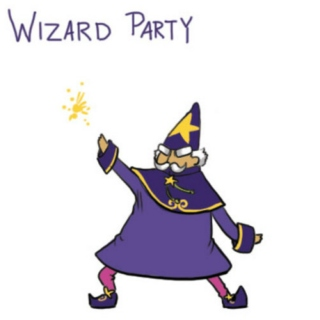 Wizard needs dance badly