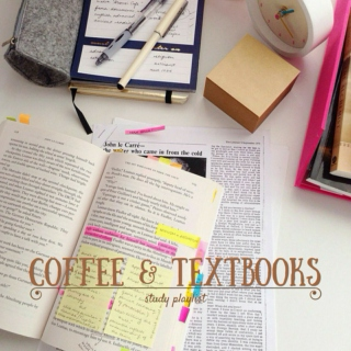 coffee & textbooks