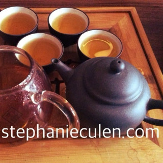 The Virtues of Tea : Five Cups