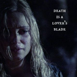 death is a lover's blade